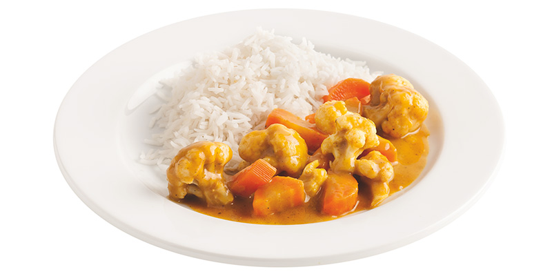 Karfiol-Karottencurry