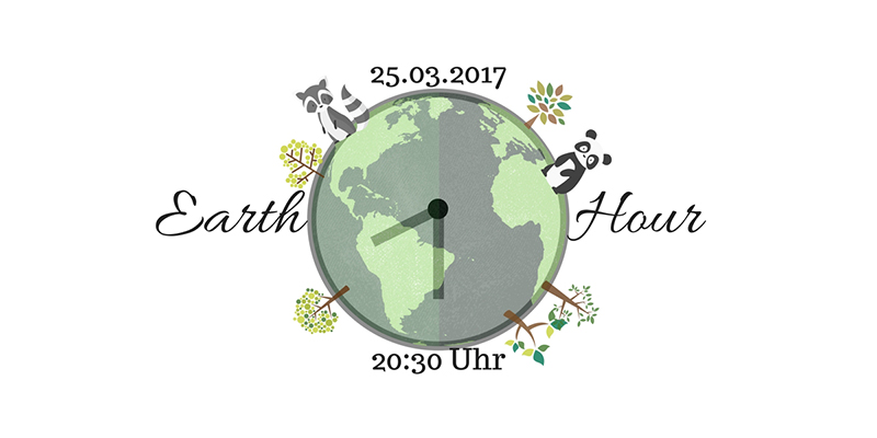 Earth Hour 2017 Grafik